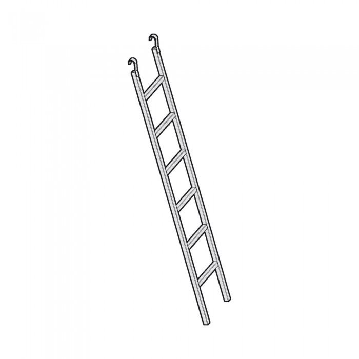 Escalera de Acceso Acero Galvanizado